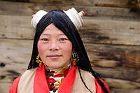 A woman from Litang (Kham)