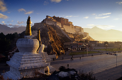 The Potala in Lhasa